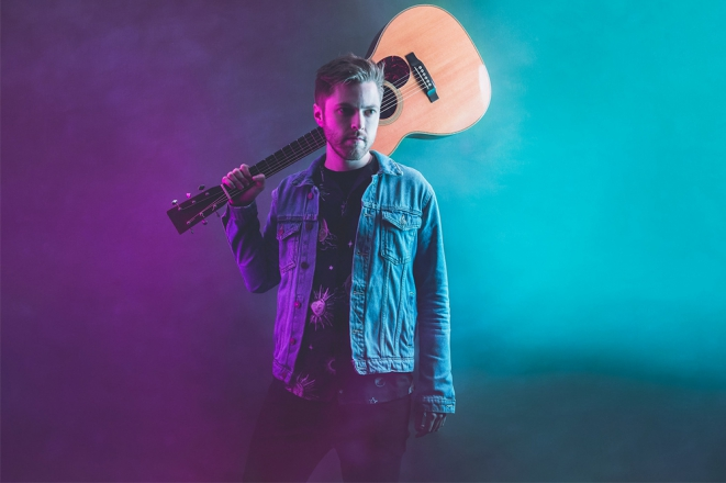 Promo Nathan Morley Singer-Guitarist Cheshire
