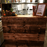 Promo The Rustic Wooden Bar Mobile Bar Derby