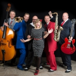 Promo Elaina and The West Coast Stompers Rock n Roll Swing Band Pembrokeshire