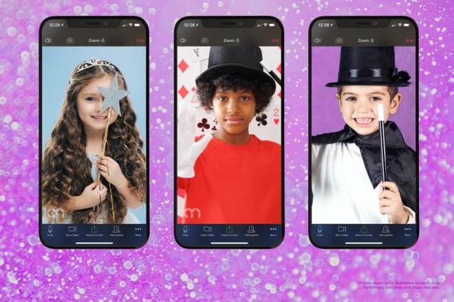 Promo Online Magic Workshop Party Online Kids Party Staffordshire