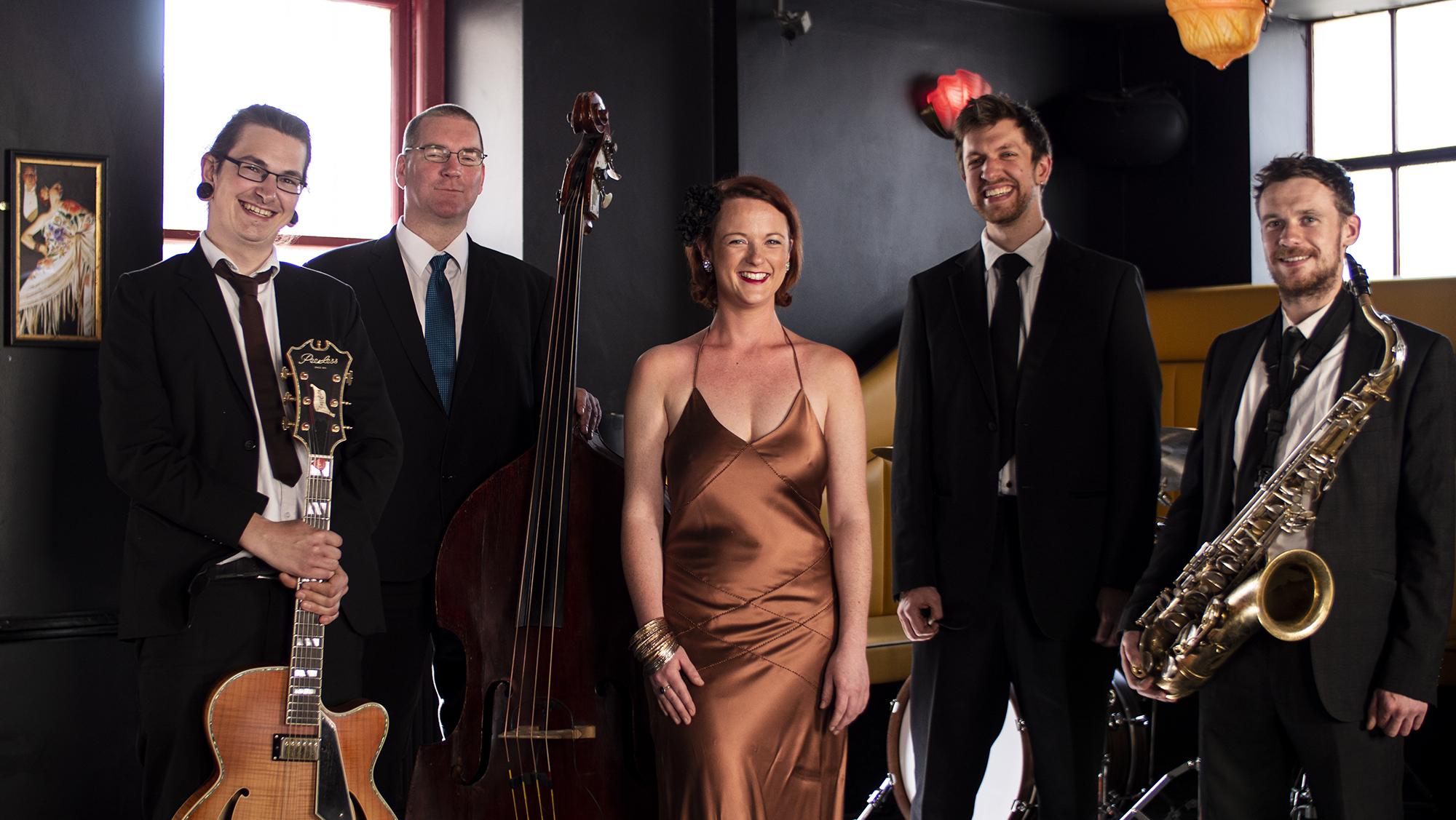 Promo Satin Doll Jazz Band Bristol