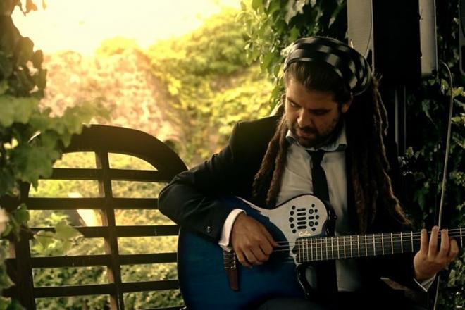 Promo Pablo Es Guitar Classical Guitarist Kent