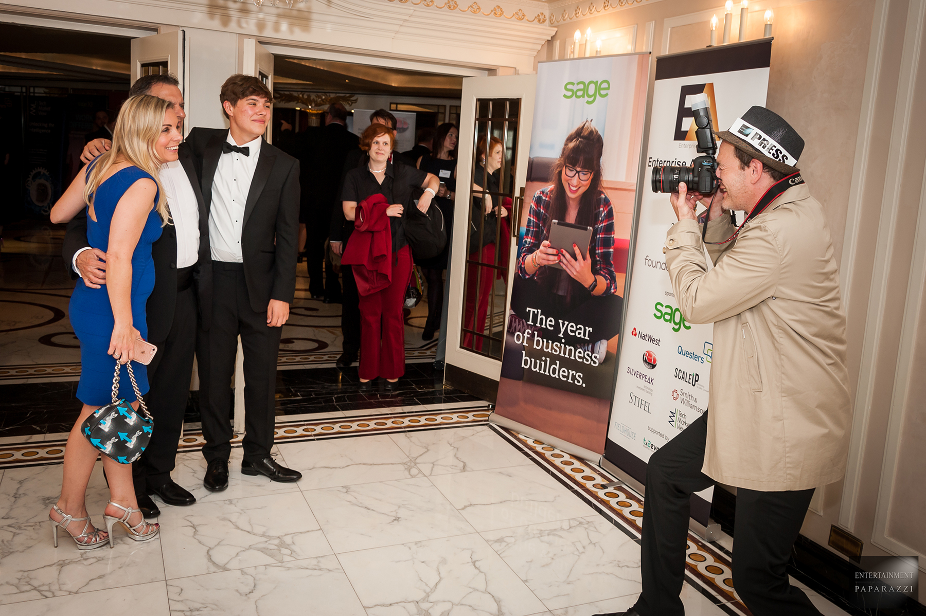 Promo Paparazzi Entertainers Event Paparazzi London