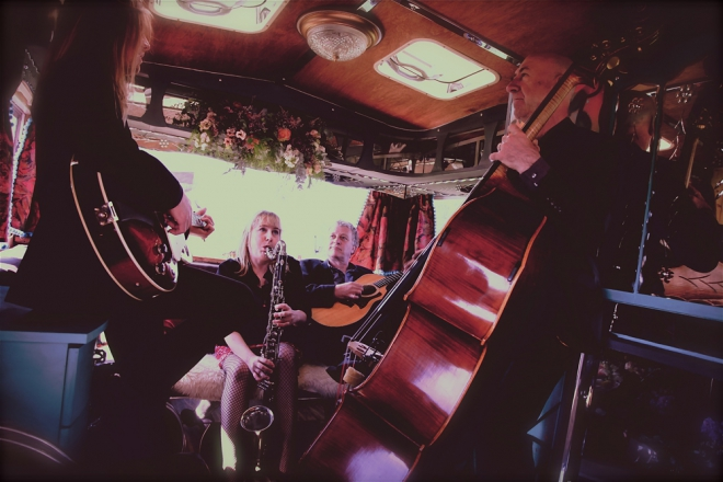Promo Paris Affair Jazz Band Vale of Glamorgan