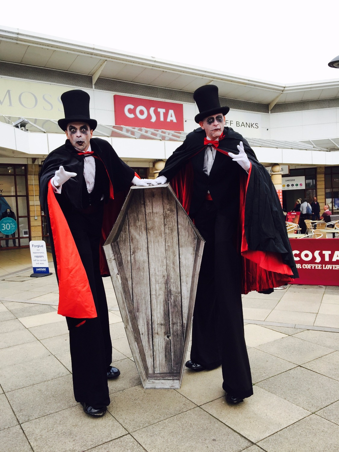 Promo Halloween Characters Walkabout Characters Oxfordshire