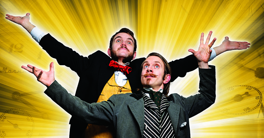 Promo Morgan And West Magic Stage Show Duo London