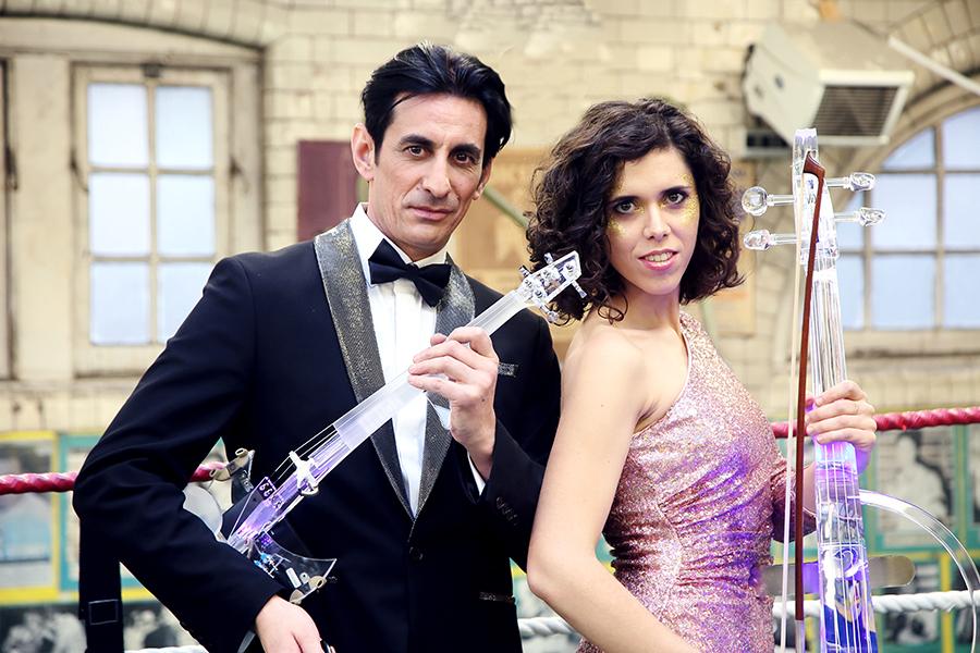 Promo Dave and Linda Electric Violin & Cello Duo London