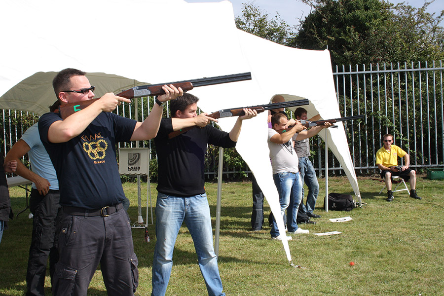 Promo Laser Clay Pigeon and Shooting Games Laser Clay Shooting Cambridgeshire