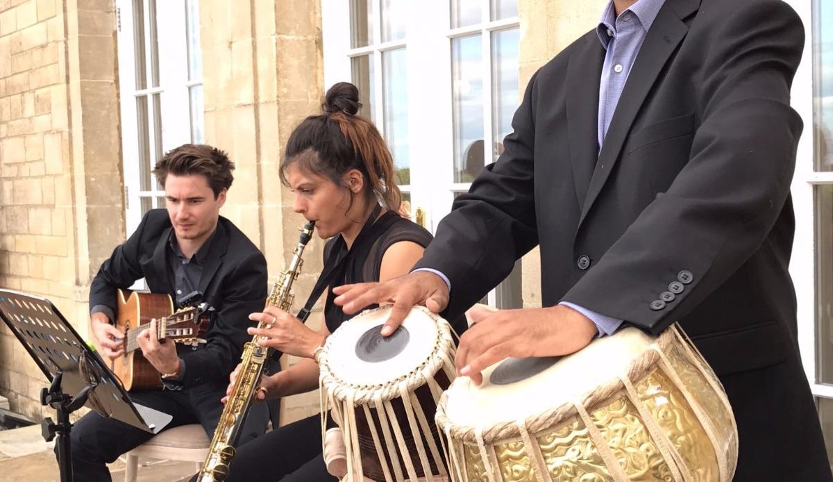 Promo Live Indo-Jazz Band Indian Jazz Trio London