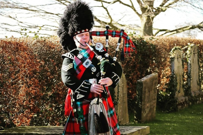 Promo Pipe Major Andrew Brian Piper Cheshire