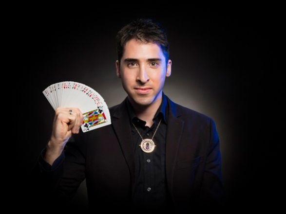 Promo J Winter Close Up Magician Bedfordshire