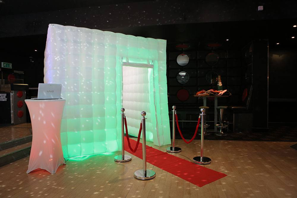 Promo Premium Party Booth Photo Booth Northamptonshire