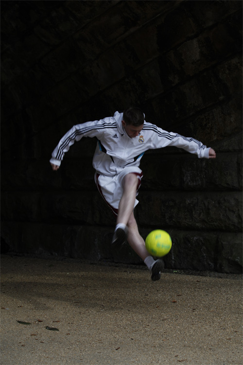 Promo Professional Football Freestyler Chris  Burnley, Lancashire