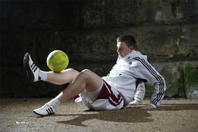 Promo Professional Football Freestyler Chris Football Freestyler Lancashire