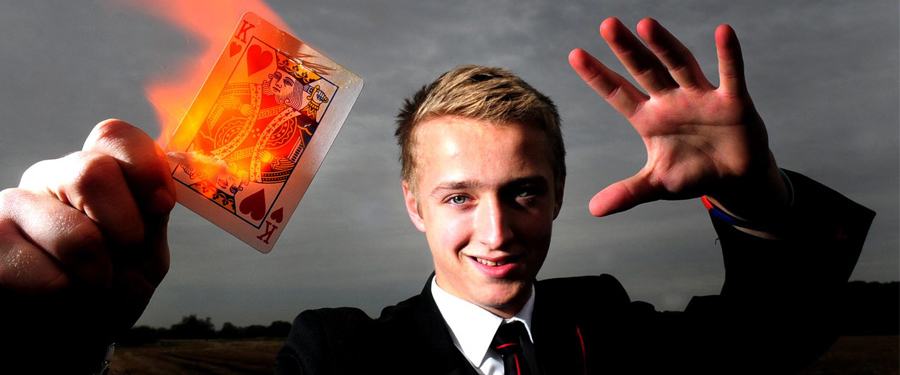 Promo Tommy Hobson Magician North Yorkshire