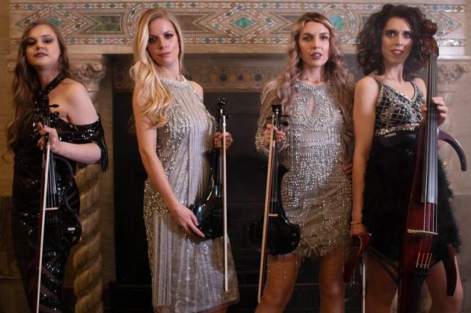 Promo Radiance Strings String Quartet London