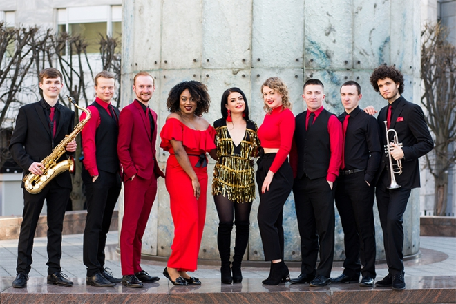 Promo Red Avenue Soul, Funk & Party Band West Yorkshire