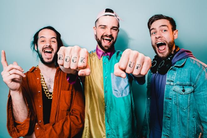 Promo Rock Up Rock and Pop Party Trio Bristol