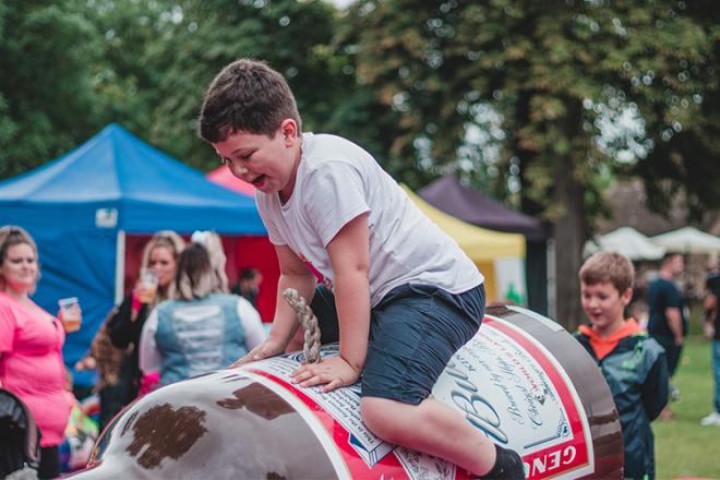 Promo Rodeo Rides Rodeo Bull Cambridgeshire