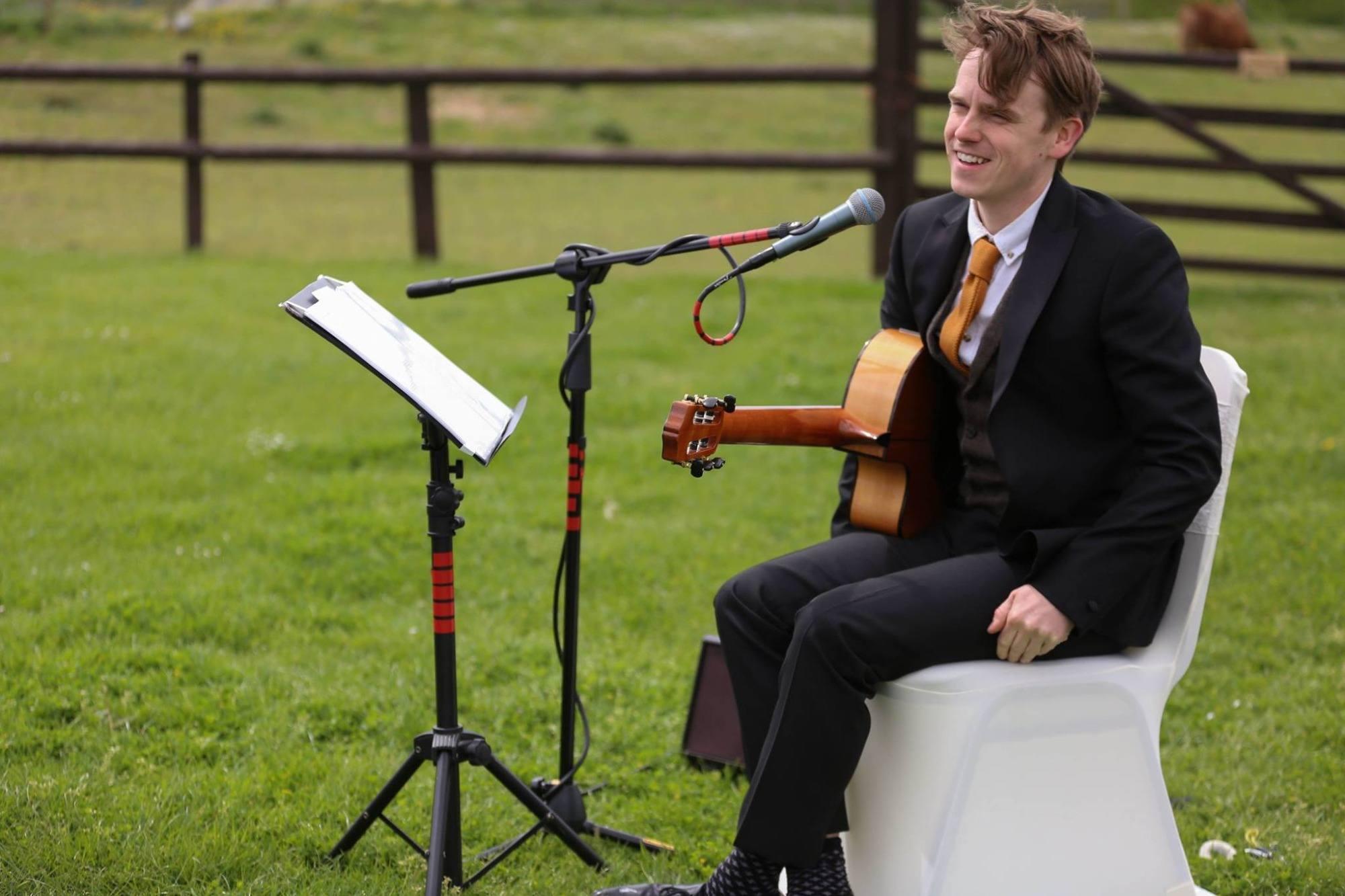Promo Ryan Gene Classical Guitarist Lancashire