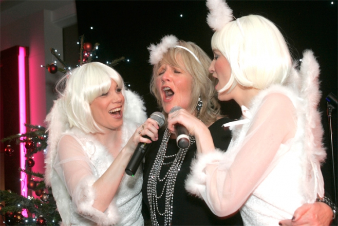 Promo Santas Singers Christmas Vocal Duo Hertfordshire