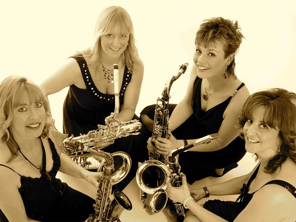 Promo Sax on the Box Saxophone Quartet Oxfordshire