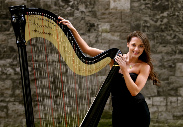 Promo Seana Harpist London