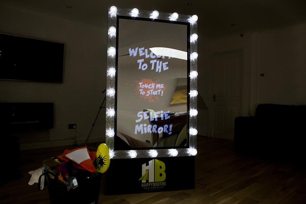 Promo Selfie Mirror Selfie Booth Dartford, Kent