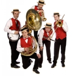 Promo Silkville Seven New Orleans Jazz Band West Yorkshire