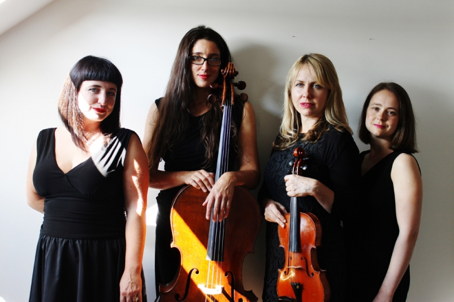 Promo Solar Strings String Quartet Newcastle upon Tyne