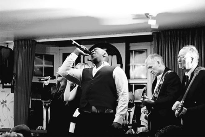 Promo Soul Control Soul Band Merseyside