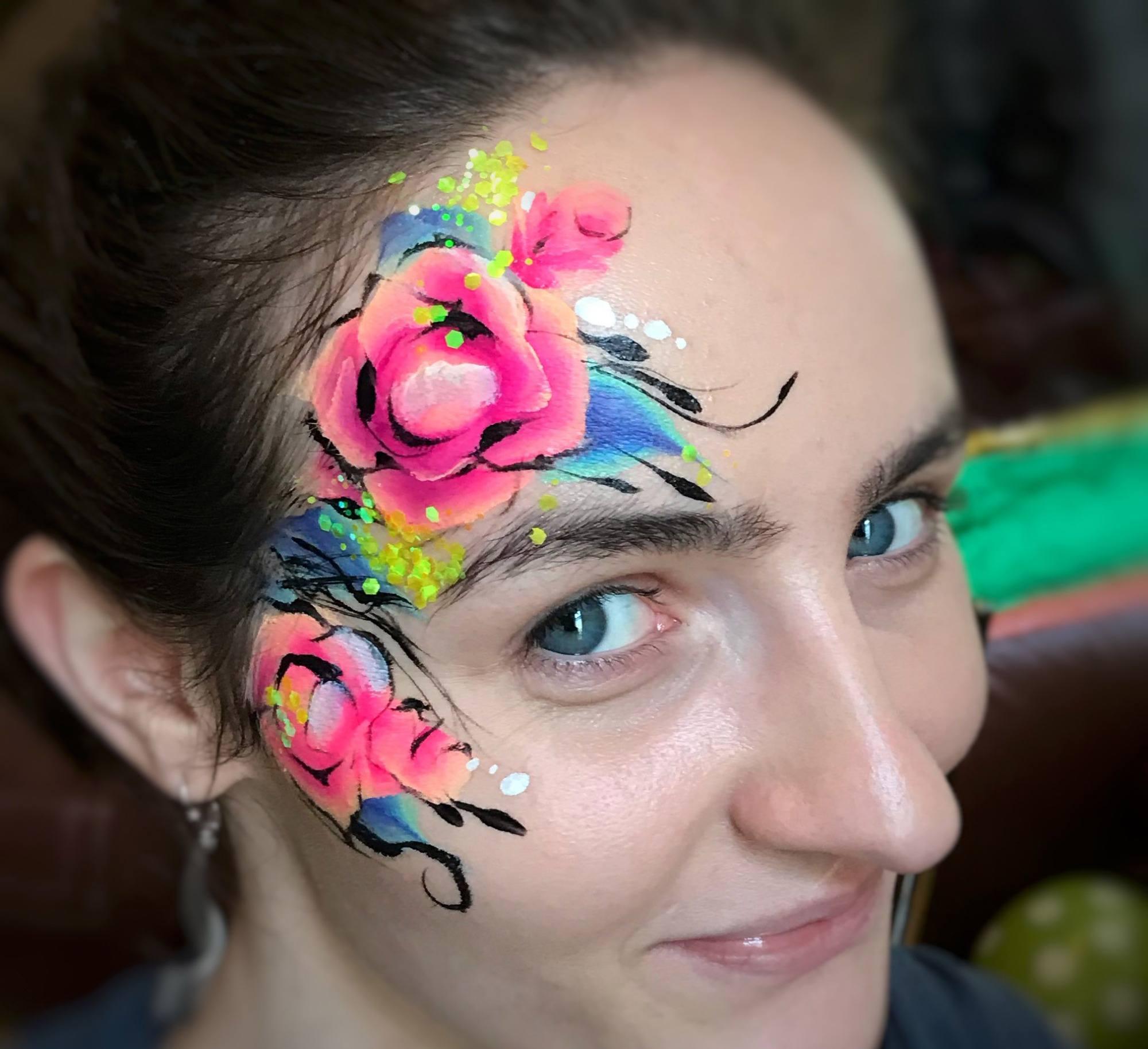 Promo Amazing Faces Face Painter Aberdeen