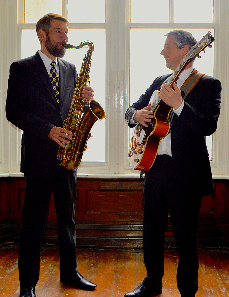 Promo Straight No Chaser Jazz and Swing Duo Wigan, Lancashire