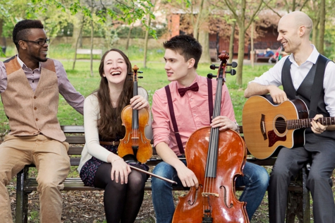 Promo String Theory Acoustic Band Greater Manchester