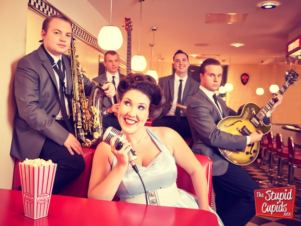 Promo The Stupid Cupids 1950s & 1960s Showband Berkshire