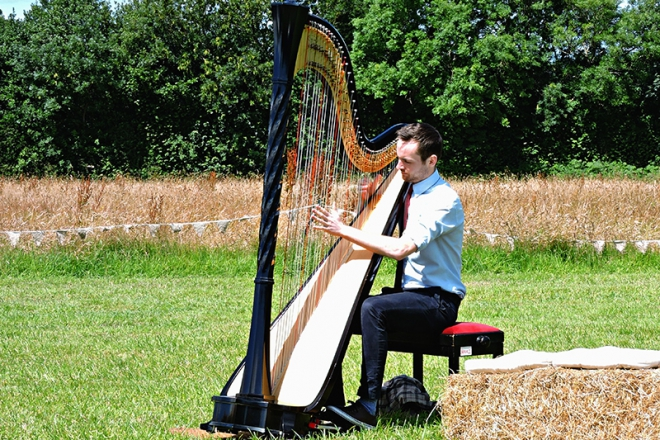 Promo Surrey Harpist Harpist London