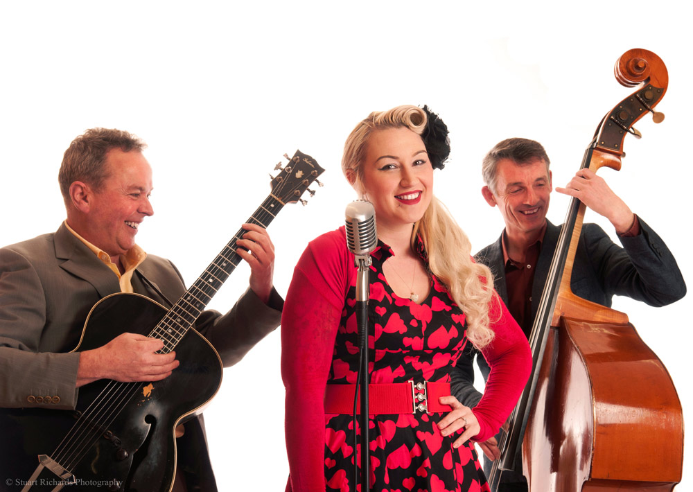 Promo Tea For Three Rock n Roll Swing Band Lincolnshire