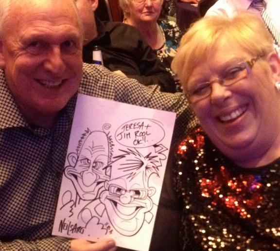 Promo Neil Thomson Caricaturist Scotland