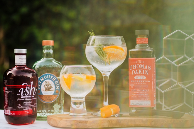 Promo The Big Gin Event Virtual Gin Tasting Greater Manchester
