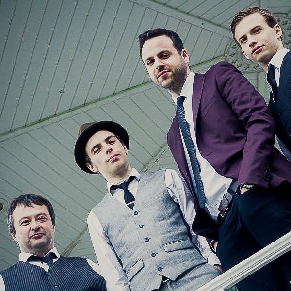 Promo The Earls Of Swing Swing/Jazz Quartet Kent