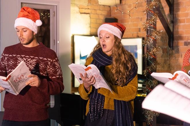 Promo The E-Carol Choir Virtual Christmas Choir London