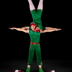 Promo The Elf Show Christmas Themed LED Elf Acrobats Dorset