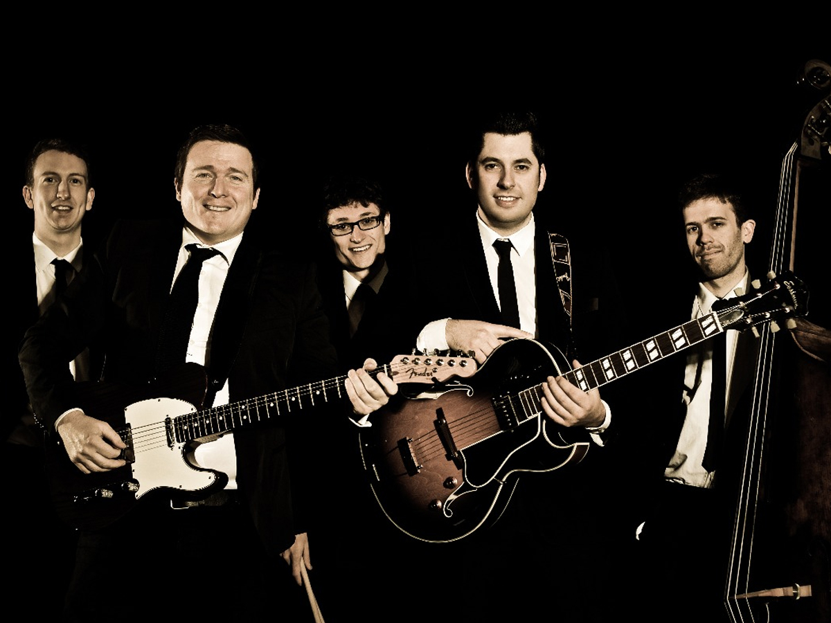 Promo The Fireflites Rock n Roll Swing Band North Yorkshire