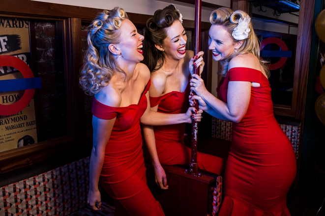 Promo The Girls Vintage Vocal Trio Hertfordshire