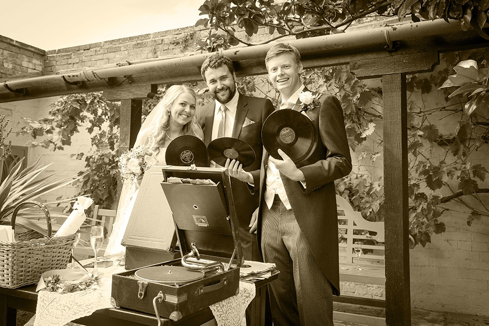 Promo The Gramophone DJ Wedding DJ Warwickshire