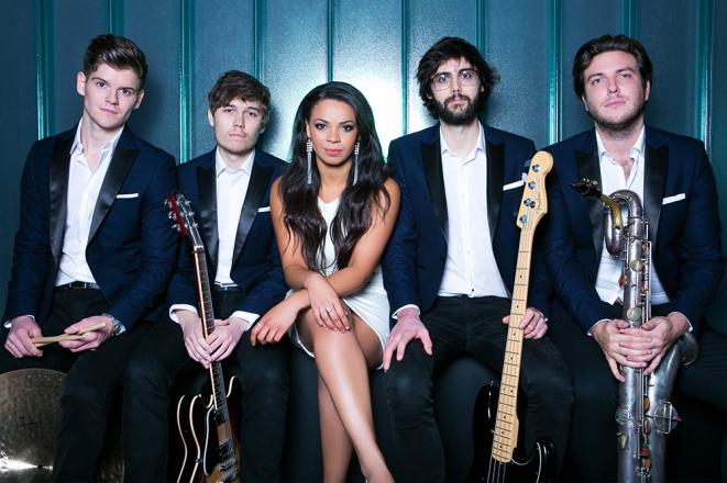 Promo The Groove Line Pop and Funk Band West Yorkshire