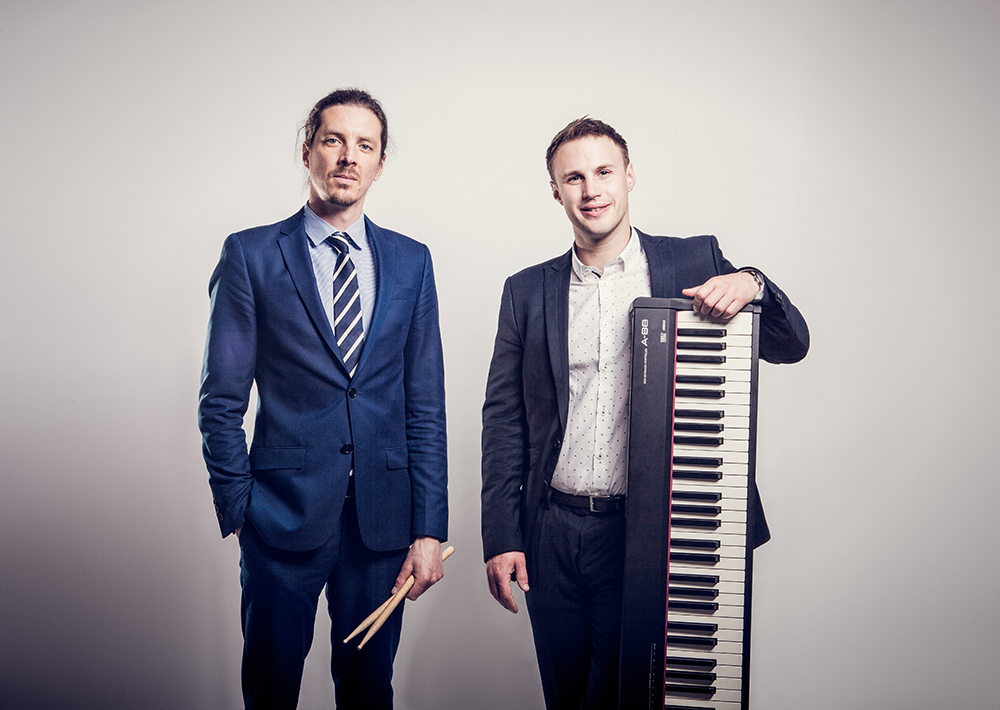 Promo The Hamiltones Vocal, Piano and Drums Duo Nottinghamshire