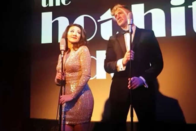 Promo The Hit Duo Post-Modern Swing Duo Hampshire