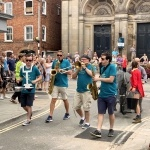 Promo The Hot Horns Brass Band Nottinghamshire