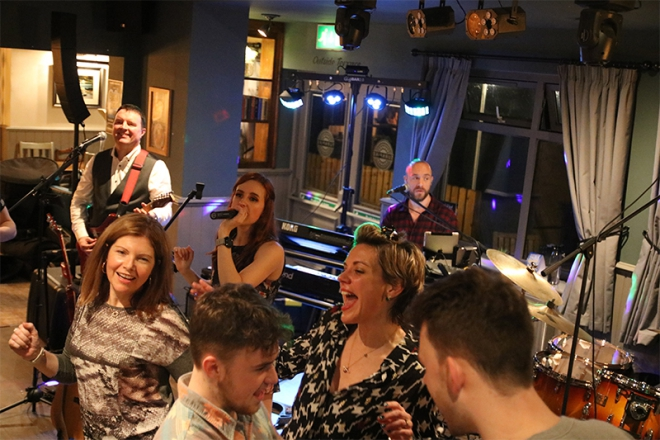 Promo The Ice Breakers Function Band Cheshire